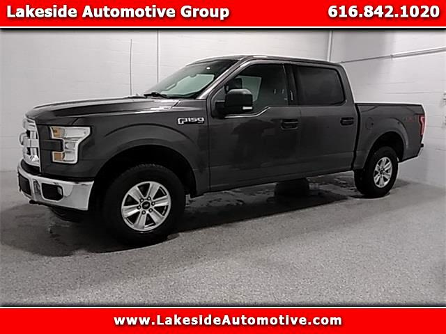 2016 Ford 150 XLT SuperCrew 5.5-ft. Bed 4WD