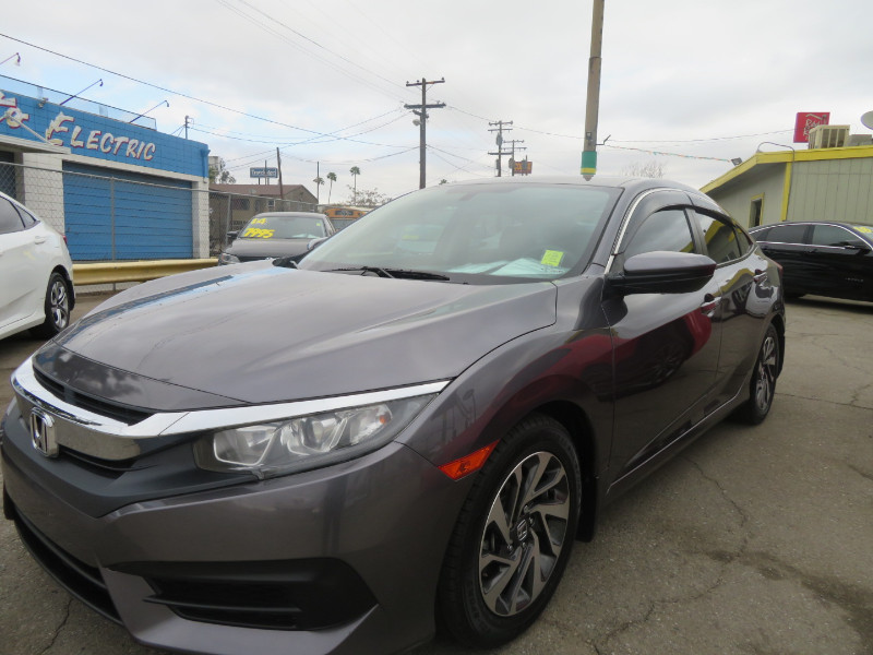Honda Civic EX Sedan CVT 2017