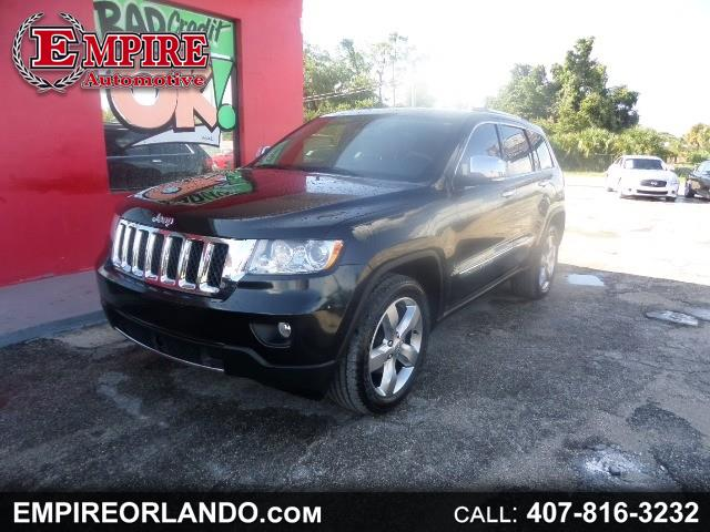 2011 Jeep Grand Cherokee RWD 4dr Overland
