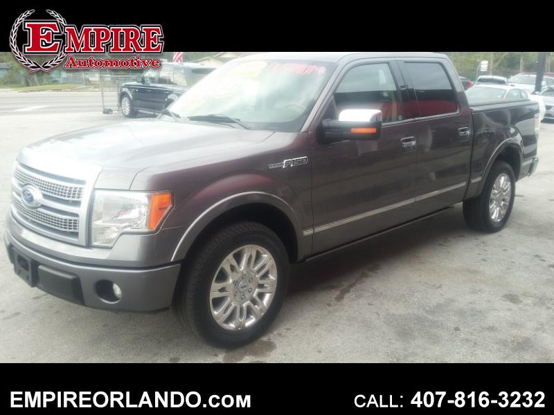 "2010 Ford F-150 2WD SuperCrew 145"" Platinum"