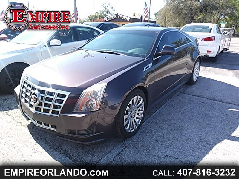 2014 Cadillac CTS Coupe 2dr Cpe Premium RWD