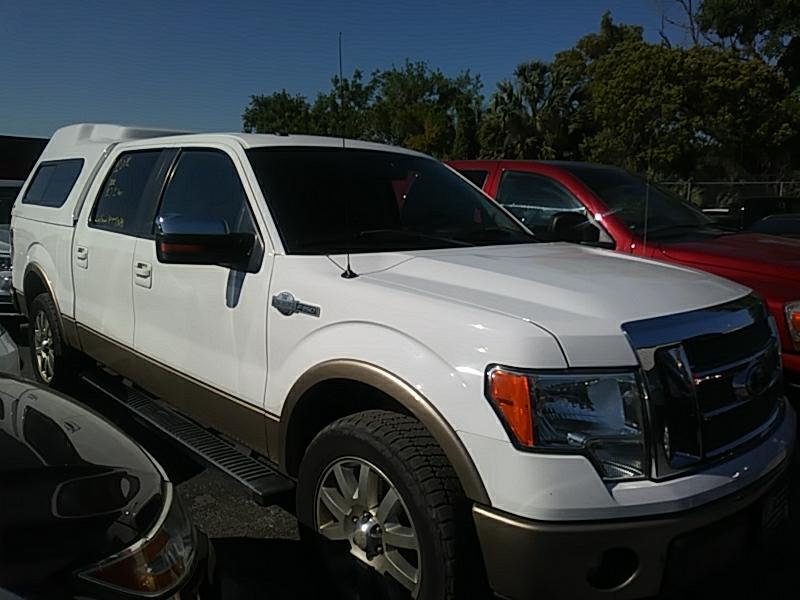 "2012 Ford F-150 2WD SuperCrew 150"" King Ranch"