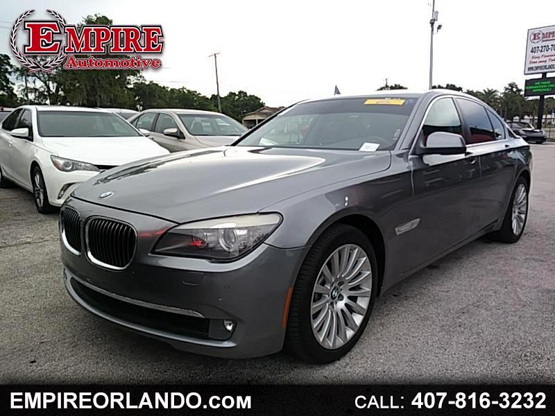 2011 BMW 7 Series 4dr Sdn 750i
