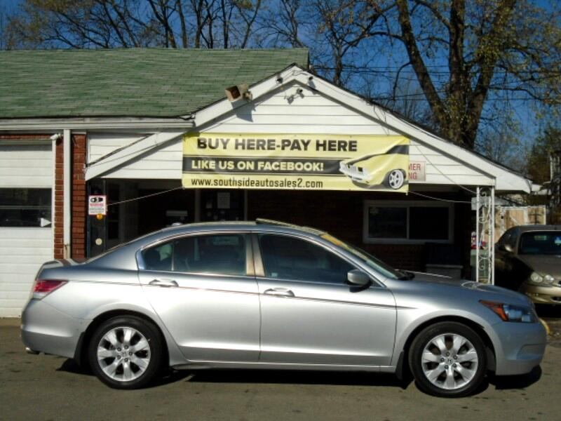 buy here pay here 2009 honda accord ex l sedan at for sale in louisville ky 40215 southside auto. Black Bedroom Furniture Sets. Home Design Ideas
