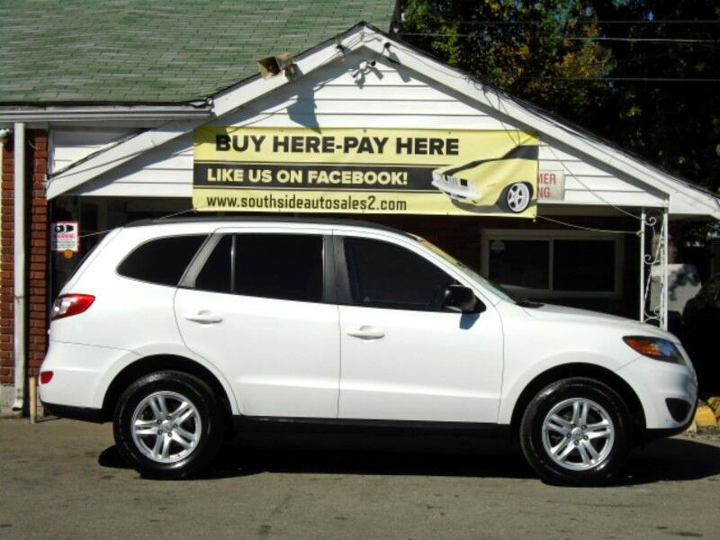 buy here pay here 2010 hyundai santa fe gls 2 4 awd for sale in louisville ky 40215 southside. Black Bedroom Furniture Sets. Home Design Ideas