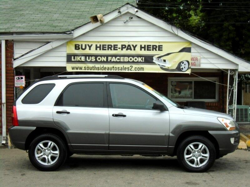 2008 Kia Sportage EX V6 2WD