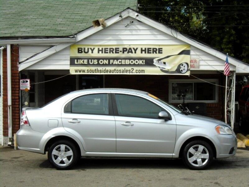 Chevrolet Aveo LS 4-Door 2011