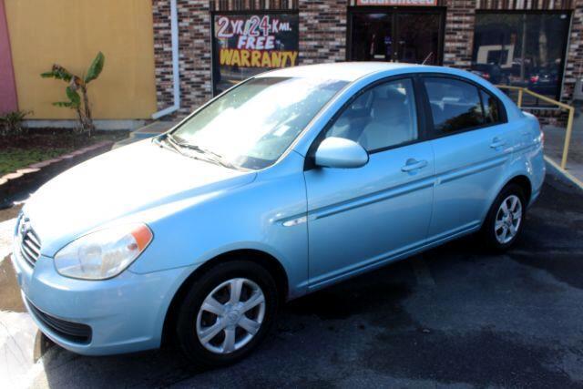 2007 Hyundai Accent GLS 4-Door
