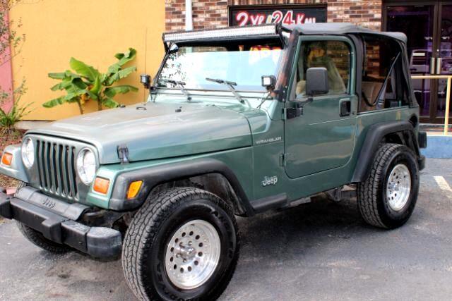 Jeep Wrangler SE 1999