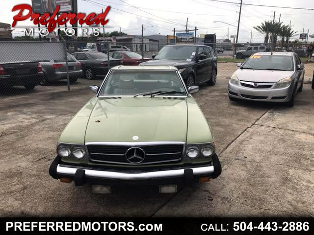 1976 Mercedes-Benz 450 SL Convertible