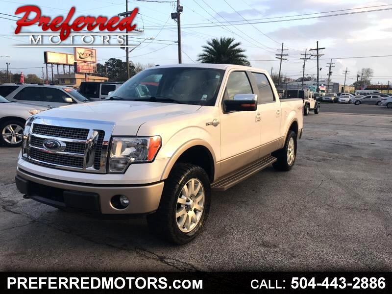 "2012 Ford F-150 SuperCrew Crew Cab 139"" King Ranch"