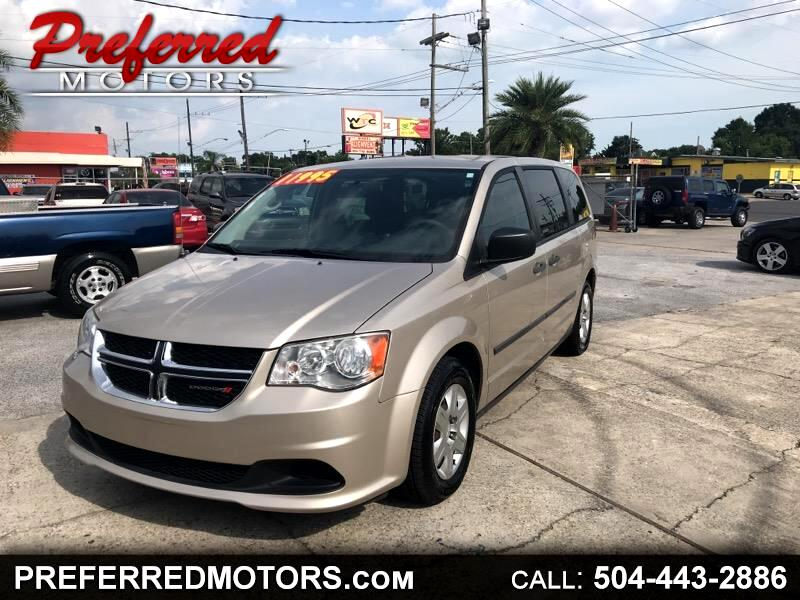 2013 Dodge Grand Caravan 4dr Wgn Canada Value Package