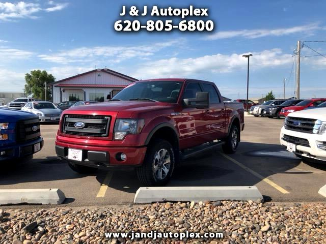 """2013 Ford F-150 4WD SuperCrew 150"""" FX4"""
