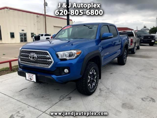 2016 Toyota Tacoma TRD Sport Double Cab 5' Bed V6 4x4 MT (Natl)