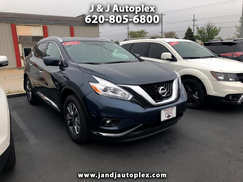 2017 Nissan Murano FWD 4dr SL