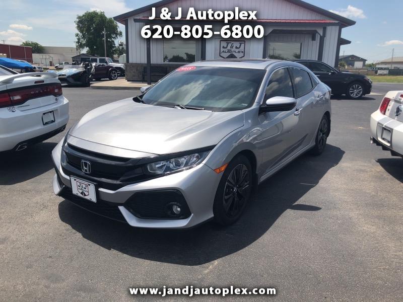 2018 Honda Civic 4dr Sdn EX Auto