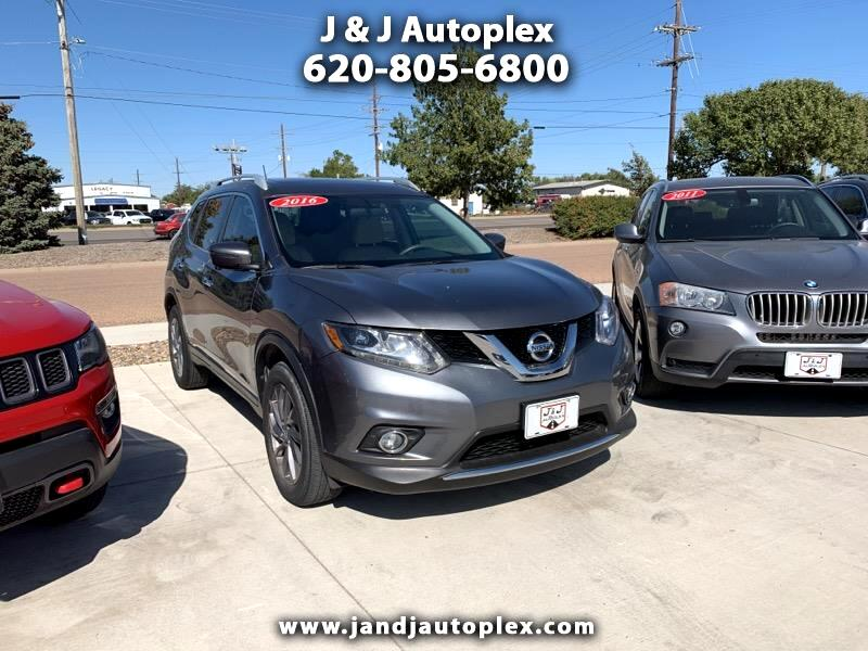 2016 Nissan Rogue 2017.5 AWD SL