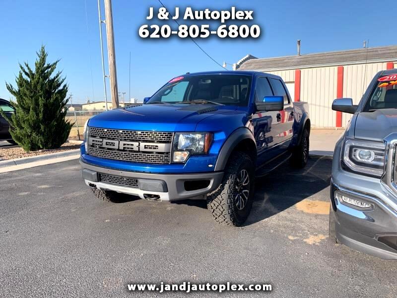"Ford F-150 4WD SuperCab 133"" SVT Raptor 2012"