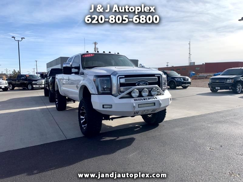 Ford F-250 SD King Ranch Crew Cab 4WD 2013