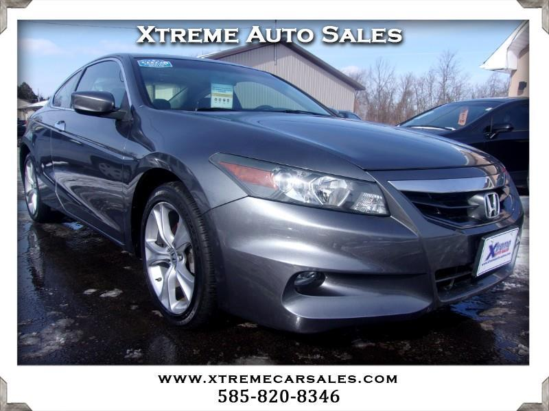 2011 Honda Accord EX-L V-6 Coupe 6-Speed with Navigation