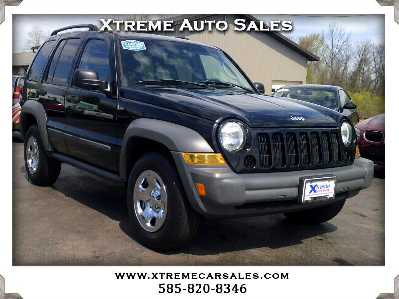 2005 Jeep Liberty Sport 4WD