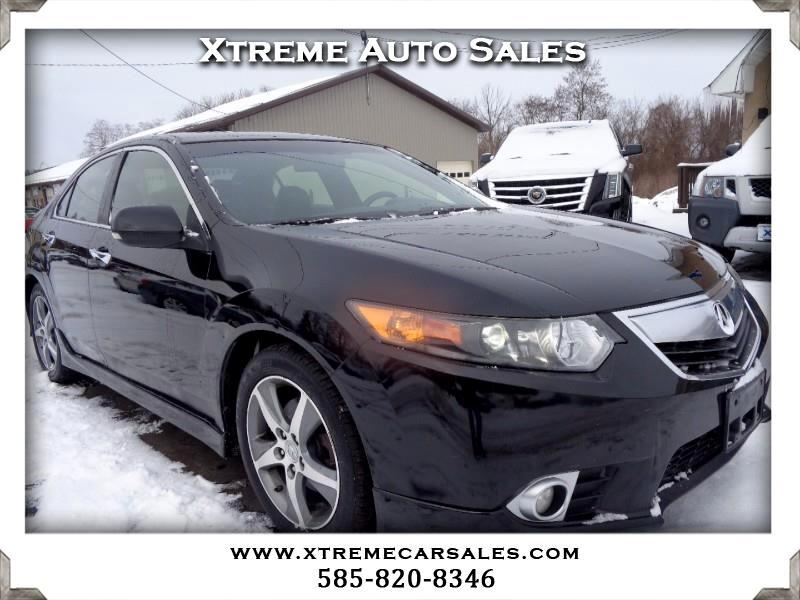 Acura TSX 6-Speed MT Special Edition 2012