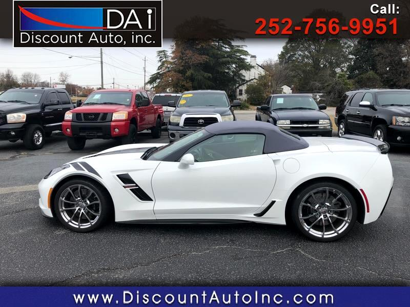 2018 Chevrolet Corvette Grand Sport w/3LT Convertbile