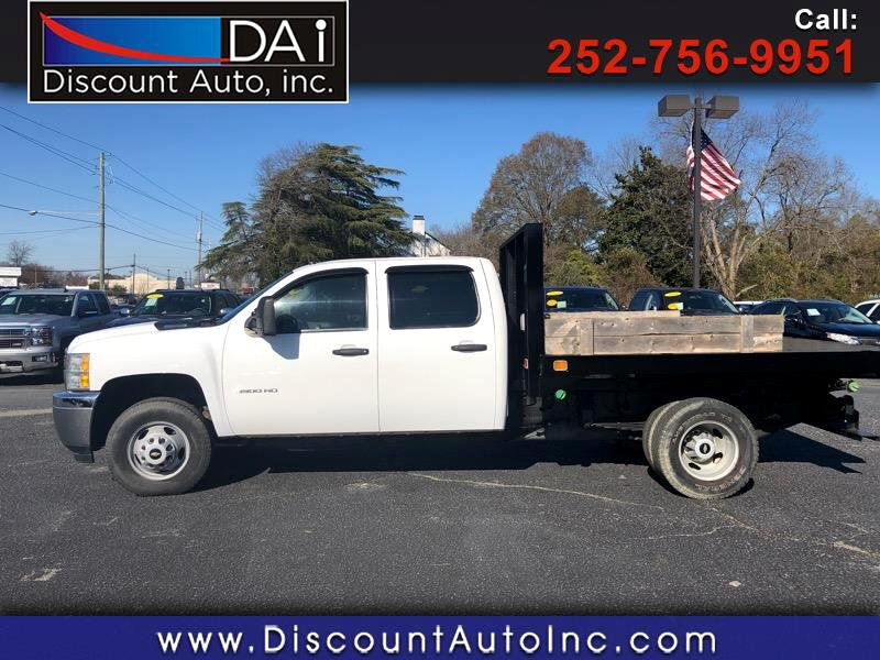 2012 Chevrolet Silverado 3500HD Work Truck Crew Cab 4WD