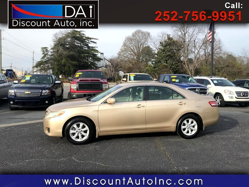 Used 2010 Toyota Camry LE 6-Spd AT for Sale in Greenville ...