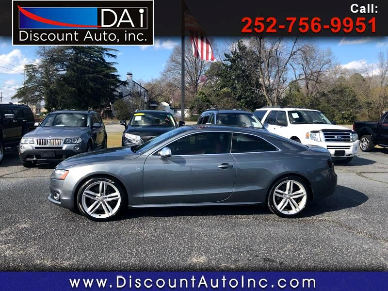 2012 Audi S5 4.2 Coupe quattro Manual