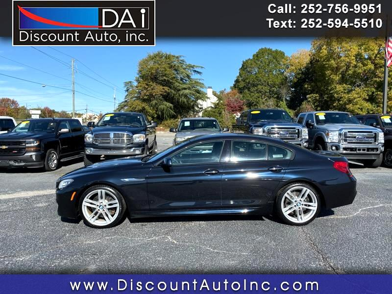 BMW 6-Series Gran Coupe 640i 2015