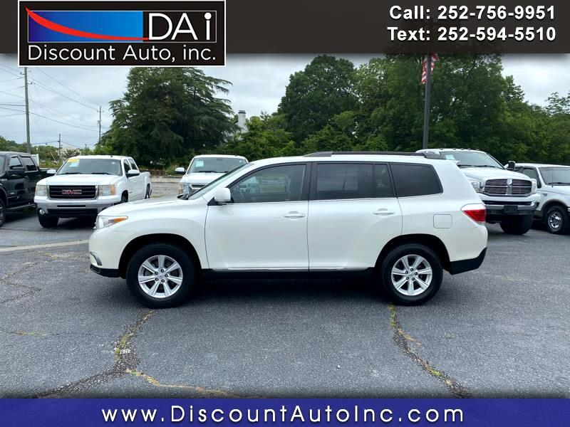 Toyota Highlander Base 2WD V6 2012