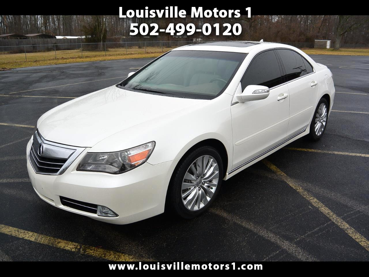 2012 Acura RL 4dr Sdn Advance Pkg