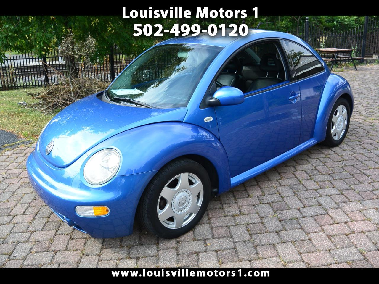 2001 Volkswagen New Beetle 2dr Cpe GLS TDI Manual
