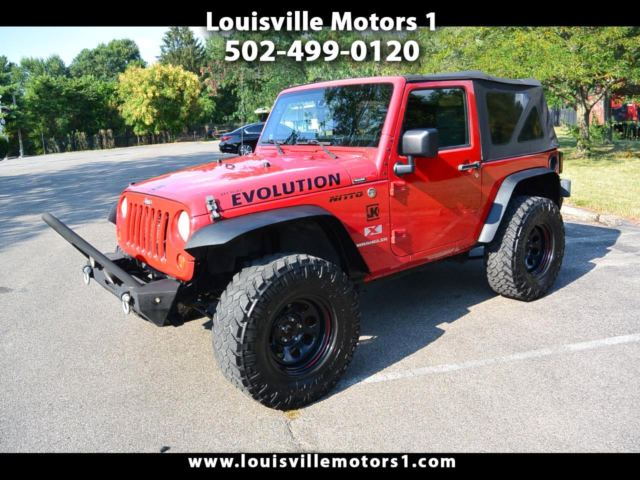 2007 Jeep Wrangler 4WD 2dr X