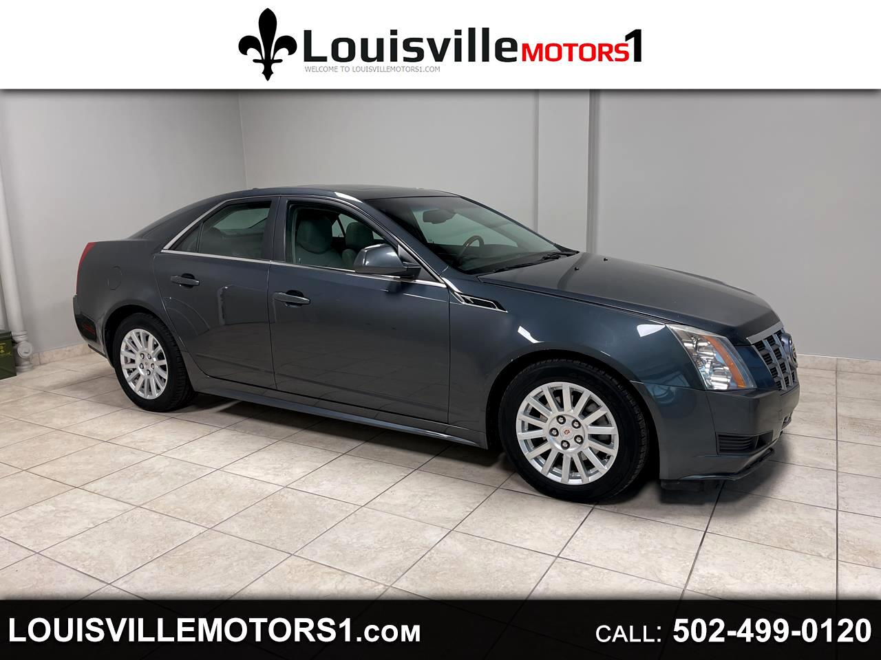 Cadillac CTS Sedan 4dr Sdn 3.0L Luxury AWD 2012