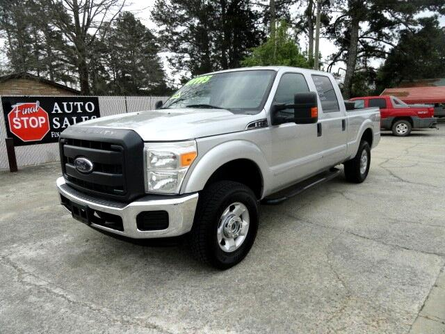 "2012 Ford Super Duty F-250 4WD SuperCab 158"" XLT"