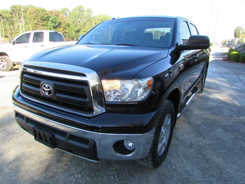 2010 Toyota Tundra 4WD Truck CrewMax 5.7L FFV V8 6-Spd AT (Natl)