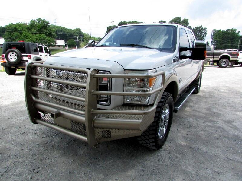 """2013 Ford F-250 HD Crew Cab KING RANCH 152.2"""" 4WD"""