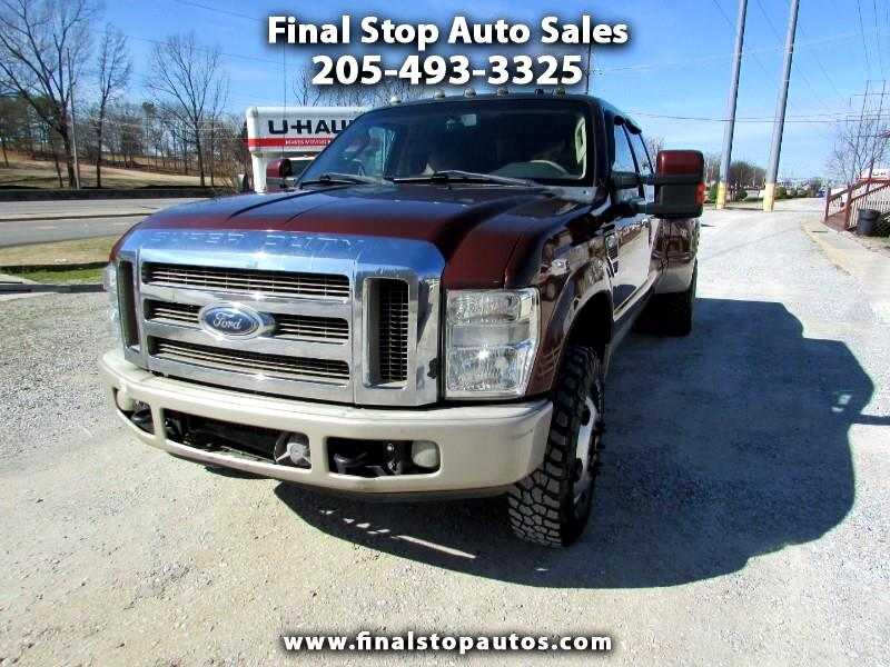 Ford F-350 SD King Ranch Crew Cab 4WD DRW 2008