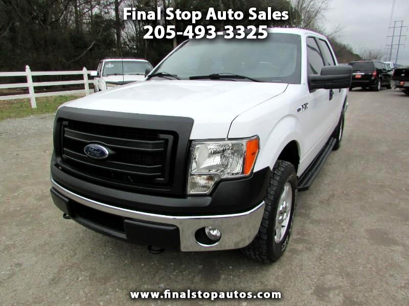 Ford F-150 XLT SuperCab 5.5-ft Box 4WD 2014