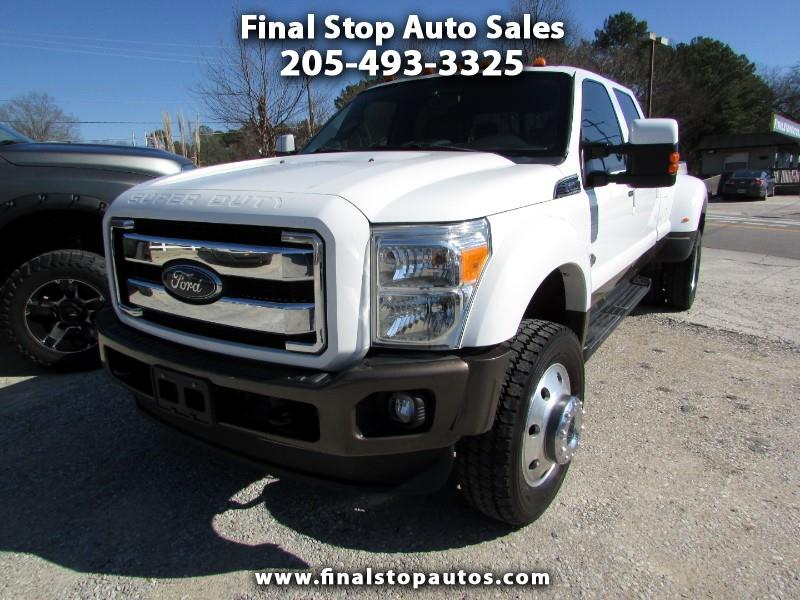 Ford F-450 SD King Ranch Crew Cab DRW 4WD 2015