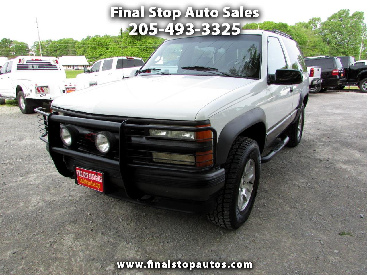 Chevrolet Tahoe 1500 2dr 4WD 1995