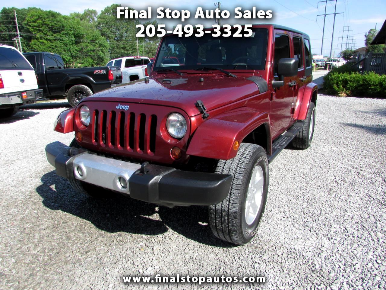 Jeep Wrangler RWD 4dr Unlimited Sahara 2008