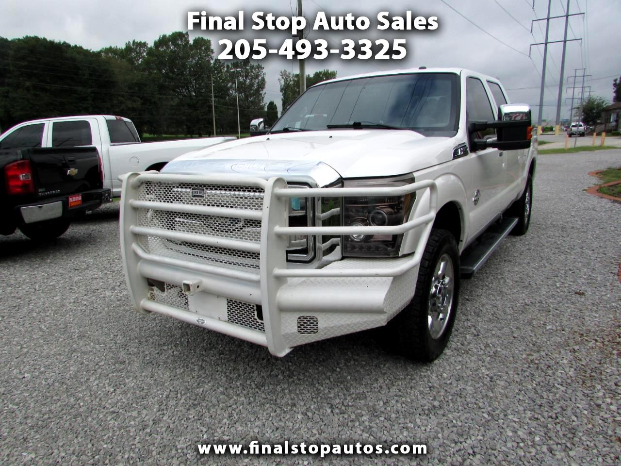 Ford Super Duty F-250 SRW Lariat 4WD Crew Cab 6.75' Box 2011