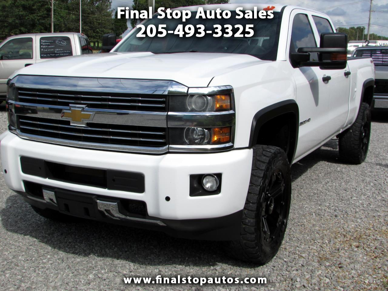 "Chevrolet Silverado 2500HD Built After Aug 14 4WD Crew Cab 153.7"" Work Truck 2015"