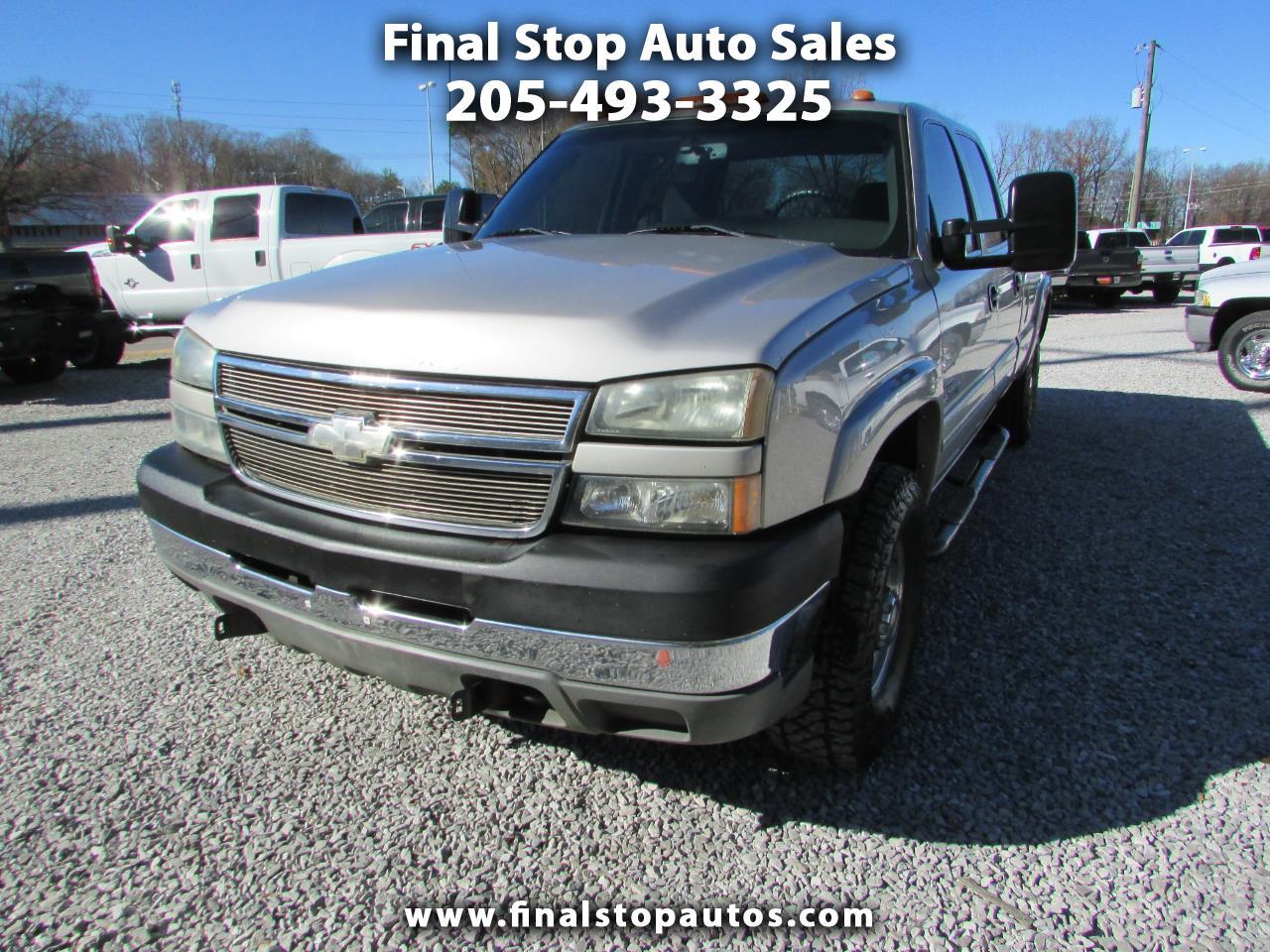 "Chevrolet Silverado 2500HD Crew Cab 167"" WB 4WD LS 2005"