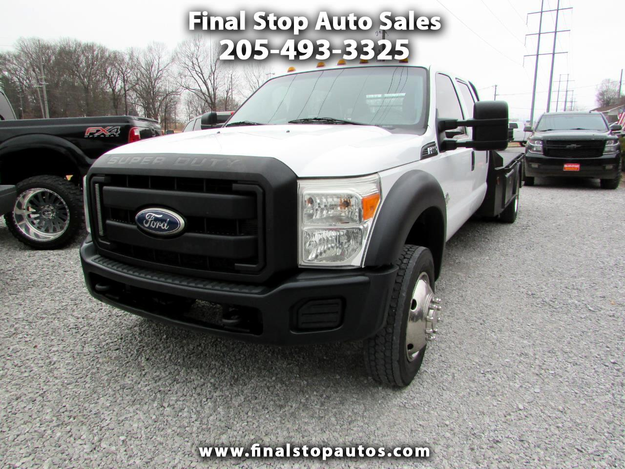 "Ford Super Duty F-550 DRW 4WD Crew Cab 200"" WB 84"" CA XL 2011"