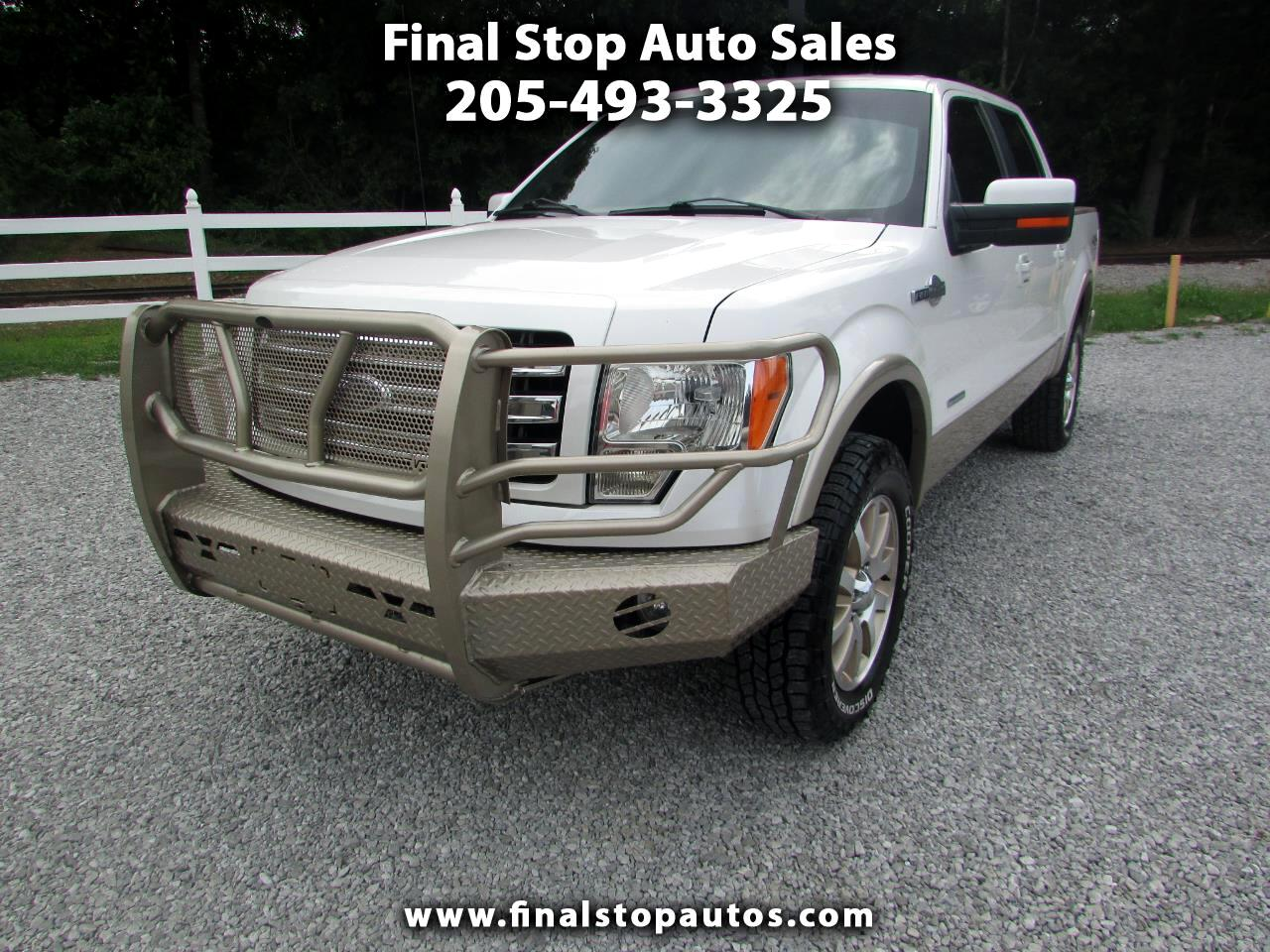 """Ford F-150 4WD SuperCrew 139"""" King Ranch 2013"""