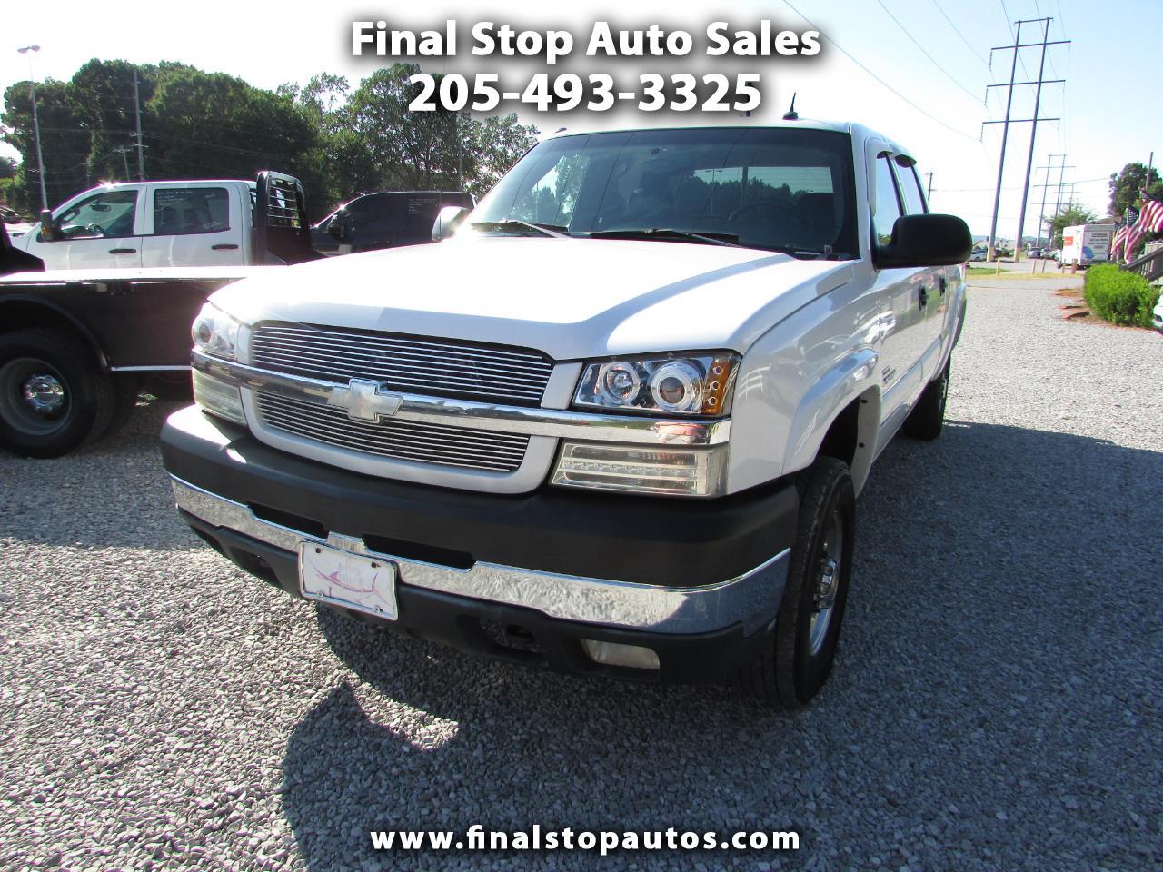 "Chevrolet Silverado 2500HD Crew Cab 153"" WB 4WD LT 2003"